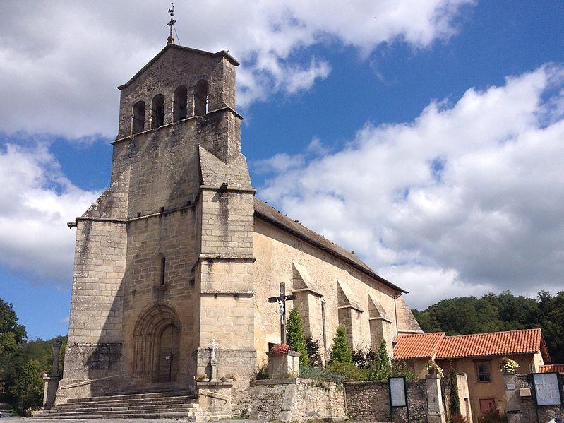 Photo du Monument Historique Eglise de l'Ordination de Saint-Martin situé à Eyjeaux