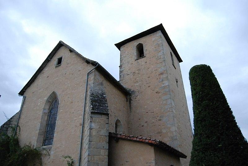 Photo du Monument Historique Eglise Saint-Yrieix et Saint-Eutrope situé à Janailhac