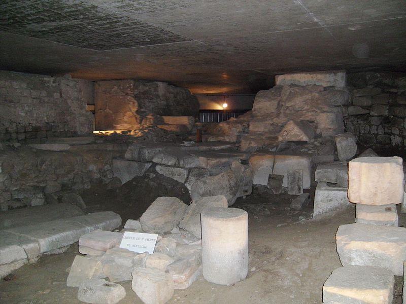 Photo du Monument Historique Ancienne abbaye Saint-Martial situé à Limoges
