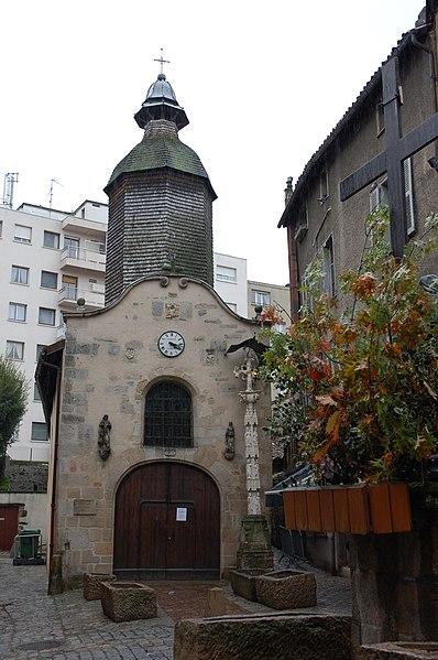 Photo du Monument Historique Chapelle Saint-Aurélien situé à Limoges