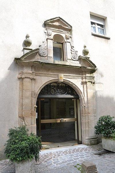 Photo du Monument Historique Ancien couvent des Filles-Notre-Dame situé à Limoges