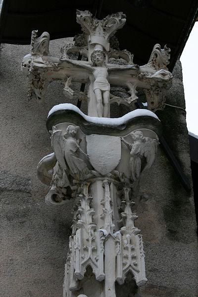 Photo du Monument Historique Croix de pierre situé à Limoges