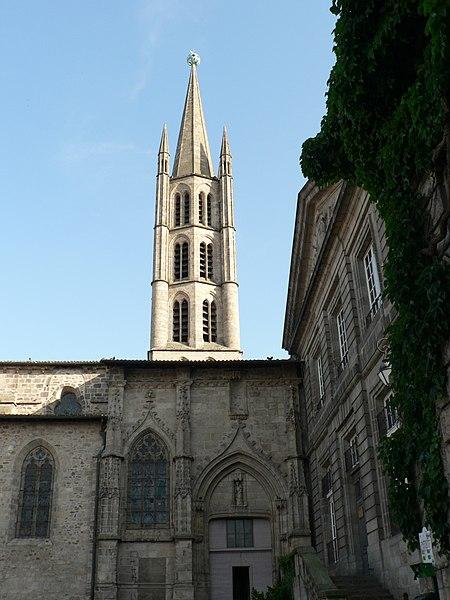 Photo du Monument Historique Eglise Saint-Michel-des-Lions situé à Limoges