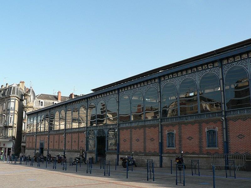 Photo du Monument Historique Halles centrales situé à Limoges