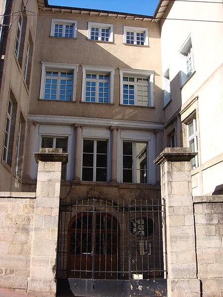 Photo du Monument Historique Ancien hôtel Martin de La Bastide situé à Limoges