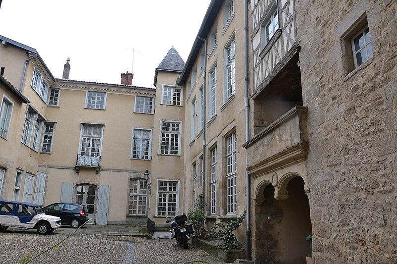 Photo du Monument Historique Hôtel Muret, dit aussi hôtel de Sampigny situé à Limoges