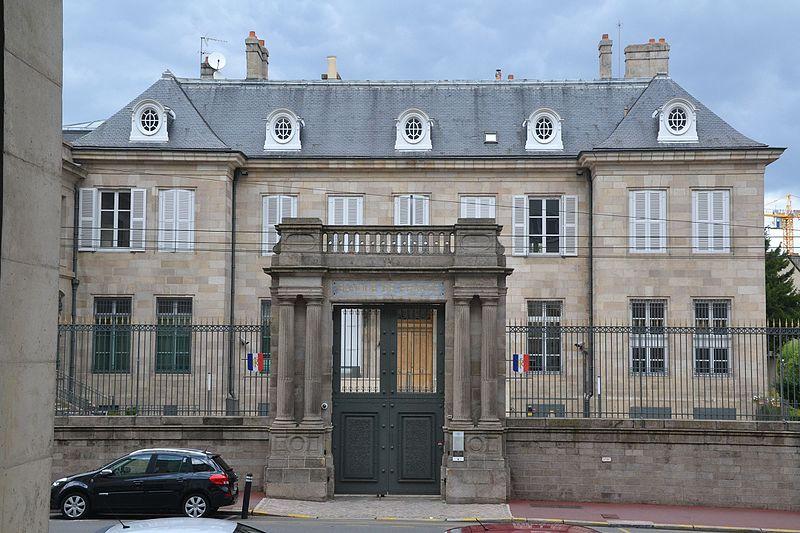 Photo du Monument Historique Ancien hôtel Naurissart, actuellement succursale de la Banque de France situé à Limoges