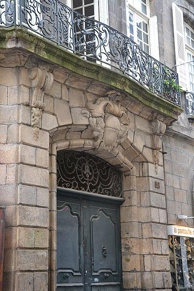 Photo du Monument Historique Hôtel particulier situé à Limoges