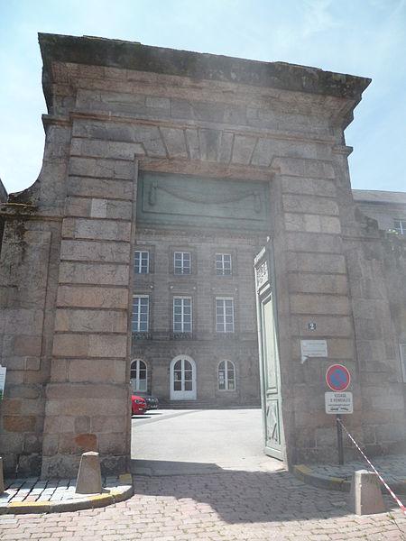 Photo du Monument Historique Ancienne Intendance du Limousin situé à Limoges