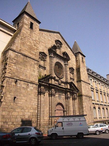 Photo du Monument Historique Lycée Gay-Lussac situé à Limoges