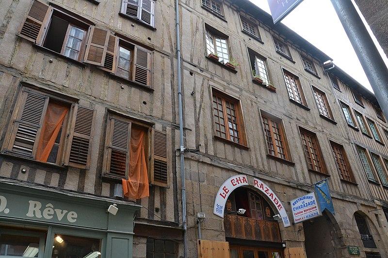 Photo du Monument Historique Maison dite des Templiers situé à Limoges
