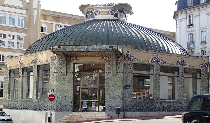 Photo du Monument Historique Ancien pavillon frigorifique, dit pavillon du Verdurier situé à Limoges