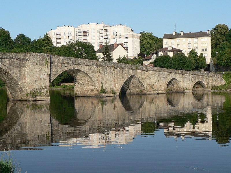 Photo du Monument Historique Pont Saint-Martial situé à Limoges