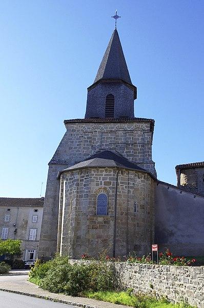 Photo du Monument Historique Eglise Saint-Amand situé à Marval