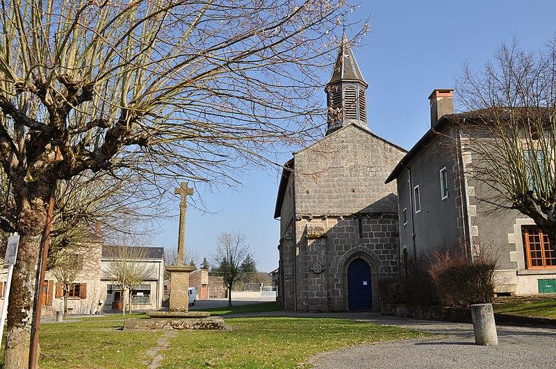 Photo du Monument Historique Croix de Morterolles situé à Bessines-sur-Gartempe