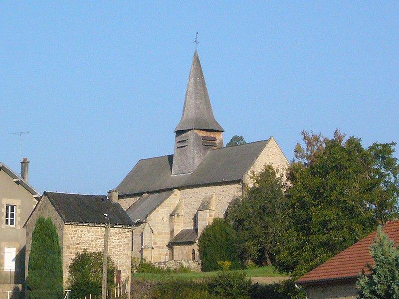 Photo du Monument Historique Eglise Saint-Martin situé à Nedde