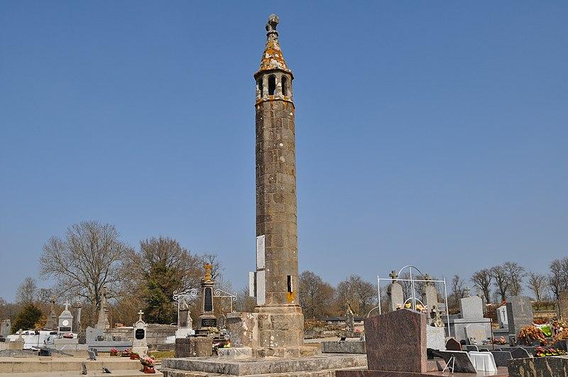 Photo du Monument Historique Lanterne des Morts situé à Oradour-Saint-Genest