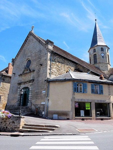 Photo du Monument Historique Eglise Sainte-Croix, Saint-Côme et Saint-Damien situé à Pierre-Buffière