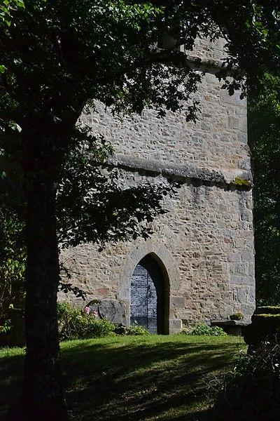 Photo du Monument Historique Ancienne église de Saint-Priest-les-Vergnes situé à Sainte-Anne-Saint-Priest