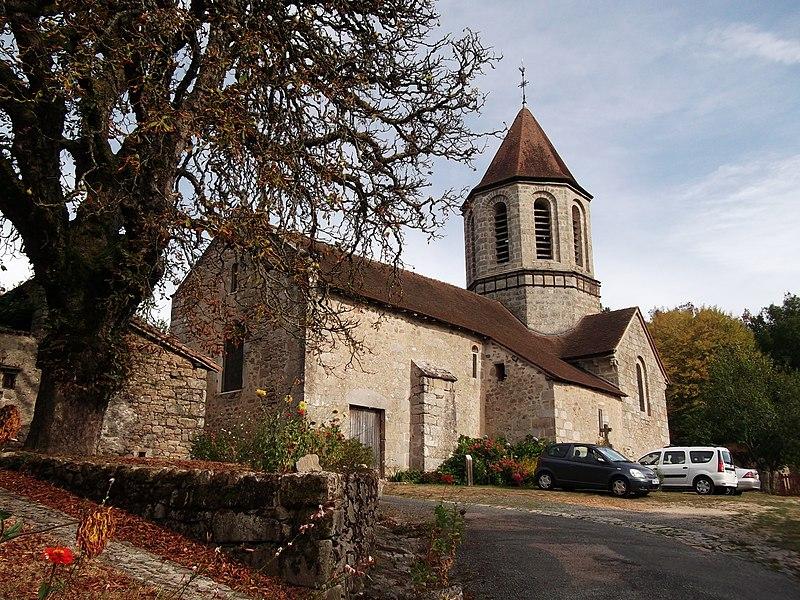Photo du Monument Historique Ancienne église Saint-Hilaire situé à Saint-Hilaire-les-Places