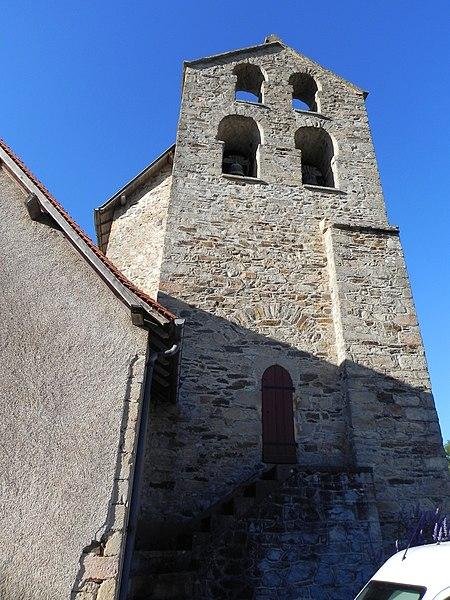 Photo du Monument Historique Eglise Saint-Jean-Baptiste situé à Saint-Jean-Ligoure