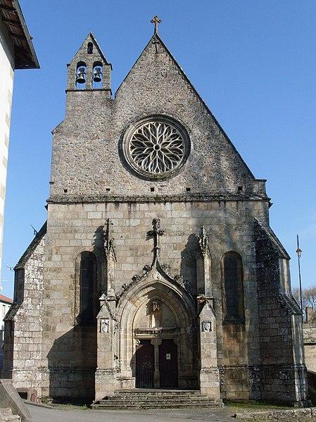 Photo du Monument Historique Chapelle Notre-Dame-du-Pont situé à Saint-Junien