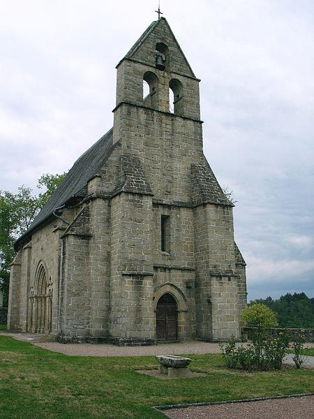 Photo du Monument Historique Eglise Saint-Just situé à Saint-Just-le-Martel
