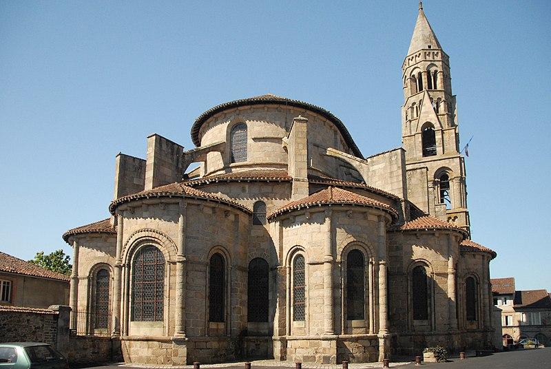 Photo du Monument Historique Église collégiale Saint-Léonard situé à Saint-Léonard-de-Noblat