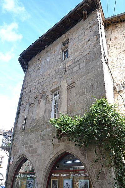 Photo du Monument Historique Maison situé à Saint-Léonard-de-Noblat