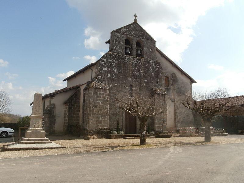 Photo du Monument Historique Eglise Saint-Yrieix situé à Saint-Yrieix-sous-Aixe