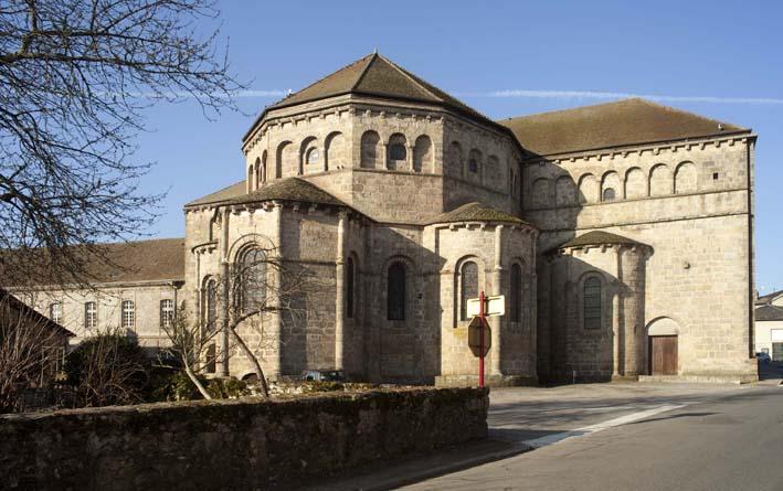 Photo du Monument Historique Ancienne abbaye situé à Solignac