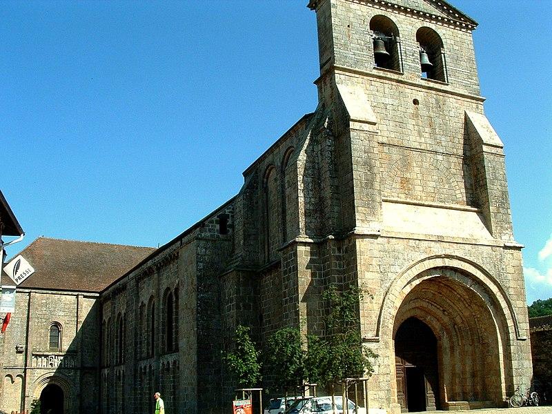 Photo du Monument Historique Eglise Saint-Pierre situé à Solignac