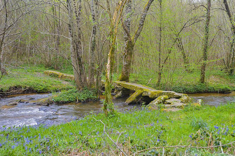 Photo du Monument Historique Pont dit romain sur l'Arthonnet situé à Flavignac