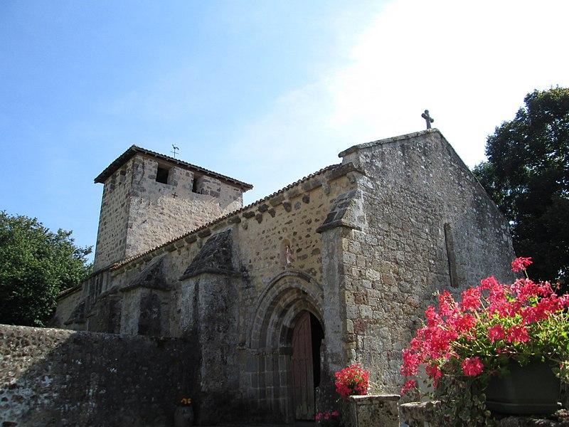 Photo du Monument Historique Eglise Sainte-Marie-Madeleine situé à Videix