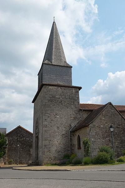 Photo du Monument Historique Eglise Saint-Denis situé à Saint-Denis-des-Murs