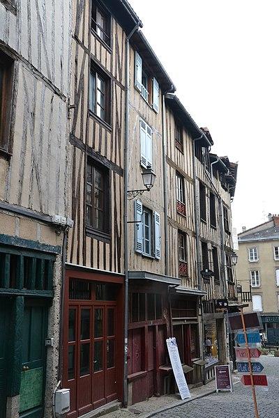 Photo du Monument Historique Immeuble situé à Limoges