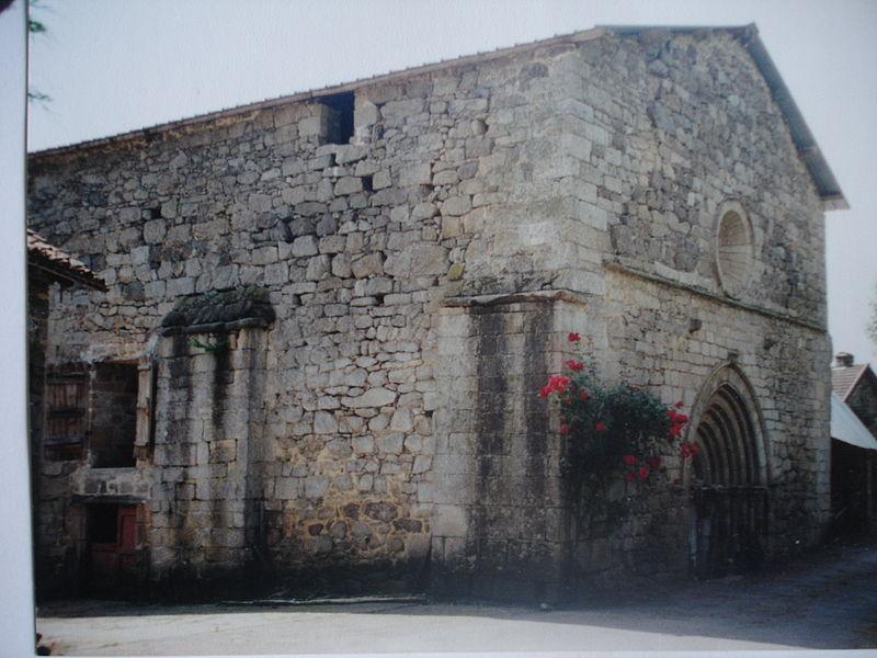 Photo du Monument Historique Ancien prieuré Sainte-Radegonde de Villevaleix situé à Sainte-Anne-Saint-Priest