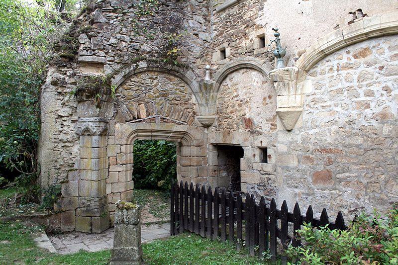 Photo du Monument Historique Château de Vicq situé à Vicq-sur-Breuilh