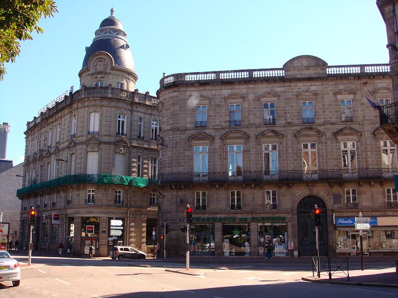 Photo du Monument Historique Siège du Cercle de l'Union et Turgot situé à Limoges