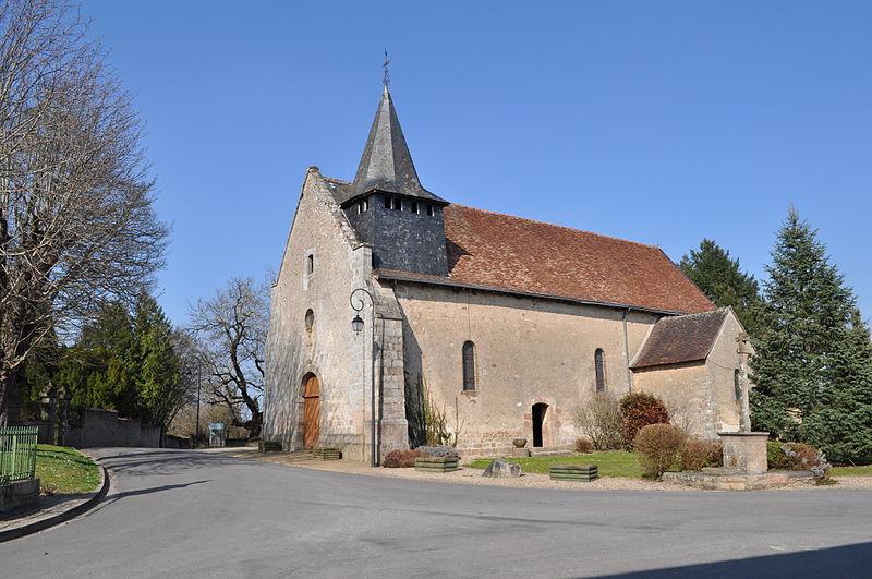 Photo du Monument Historique Église Saint-Martin situé à Fromental