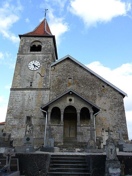 Photo du Monument Historique Eglise situé à Aouze