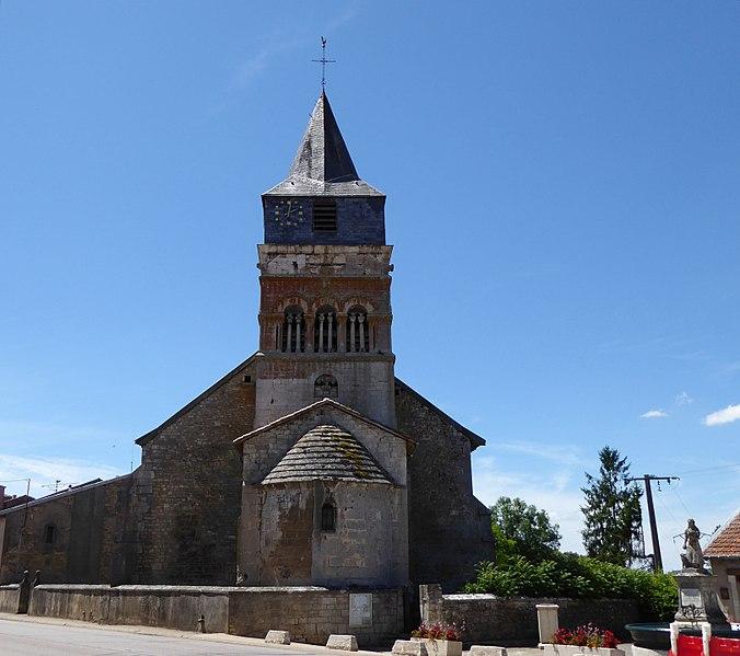 Photo du Monument Historique Eglise situé à Autreville