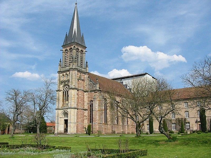 Photo du Monument Historique Abbaye situé à Autrey