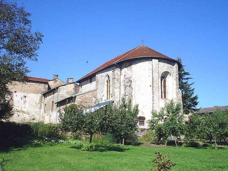 Photo du Monument Historique Prieuré situé à Bleurville