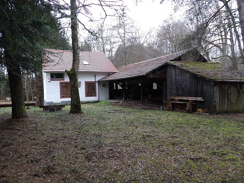 Photo du Monument Historique Scierie Lajus situé à Celles-sur-Plaine