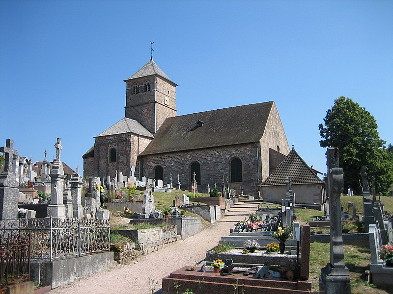 Photo du Monument Historique Eglise situé à Champ-le-Duc
