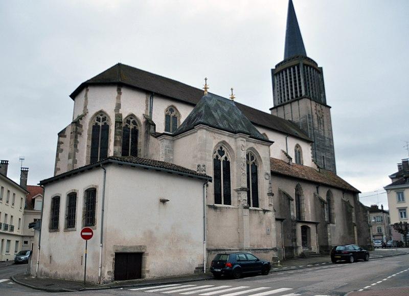 Photo du Monument Historique Eglise situé à Charmes