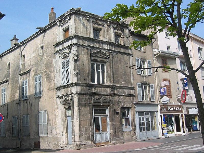 Photo du Monument Historique Maison du Chaldron dite des Loups situé à Charmes