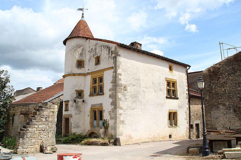 Photo du Monument Historique Hôtel de Sandrecourt situé à Châtillon-sur-Saône