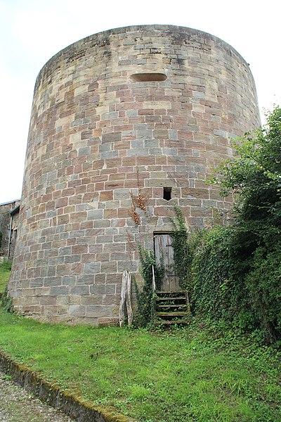 Photo du Monument Historique Rempart situé à Châtillon-sur-Saône